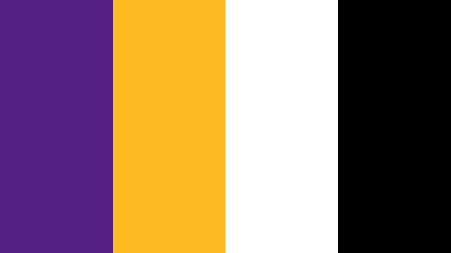 Los Angeles Lakers Logo Color Scheme Black Schemecolor Com