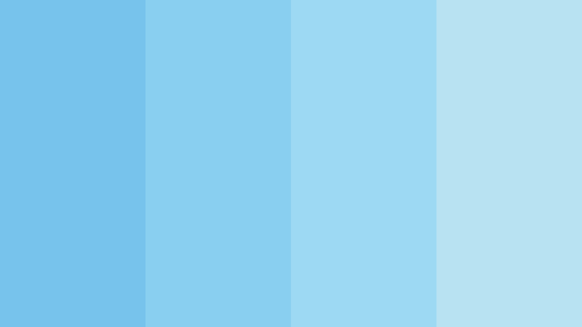 Simple Baby Blue Color Scheme Schemecolor