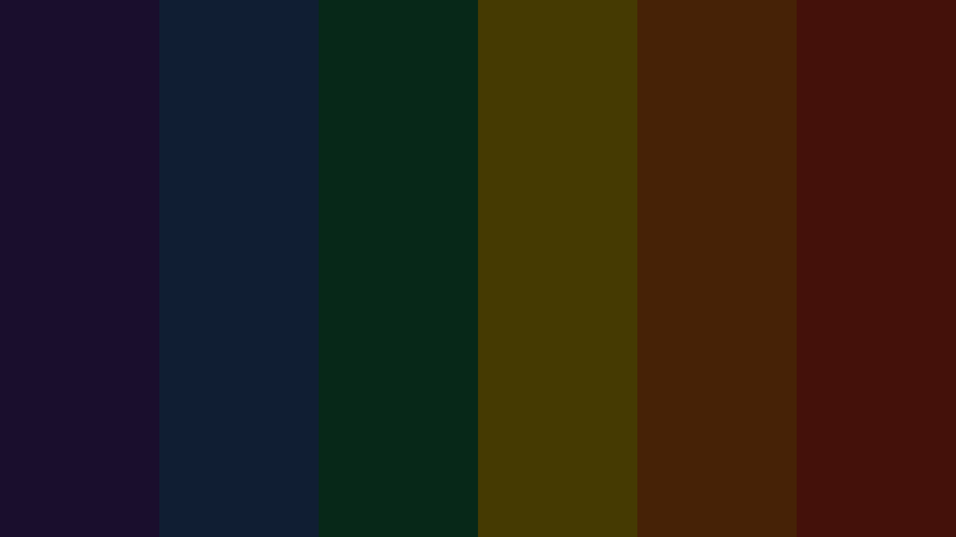Dark Rainbow Color Scheme Black Schemecolor Com