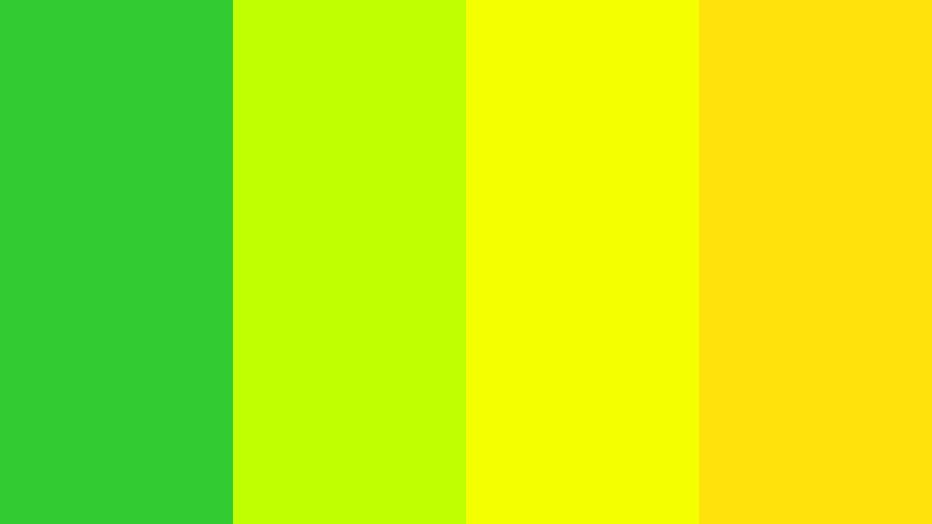 Lime Yellow Color Scheme Green