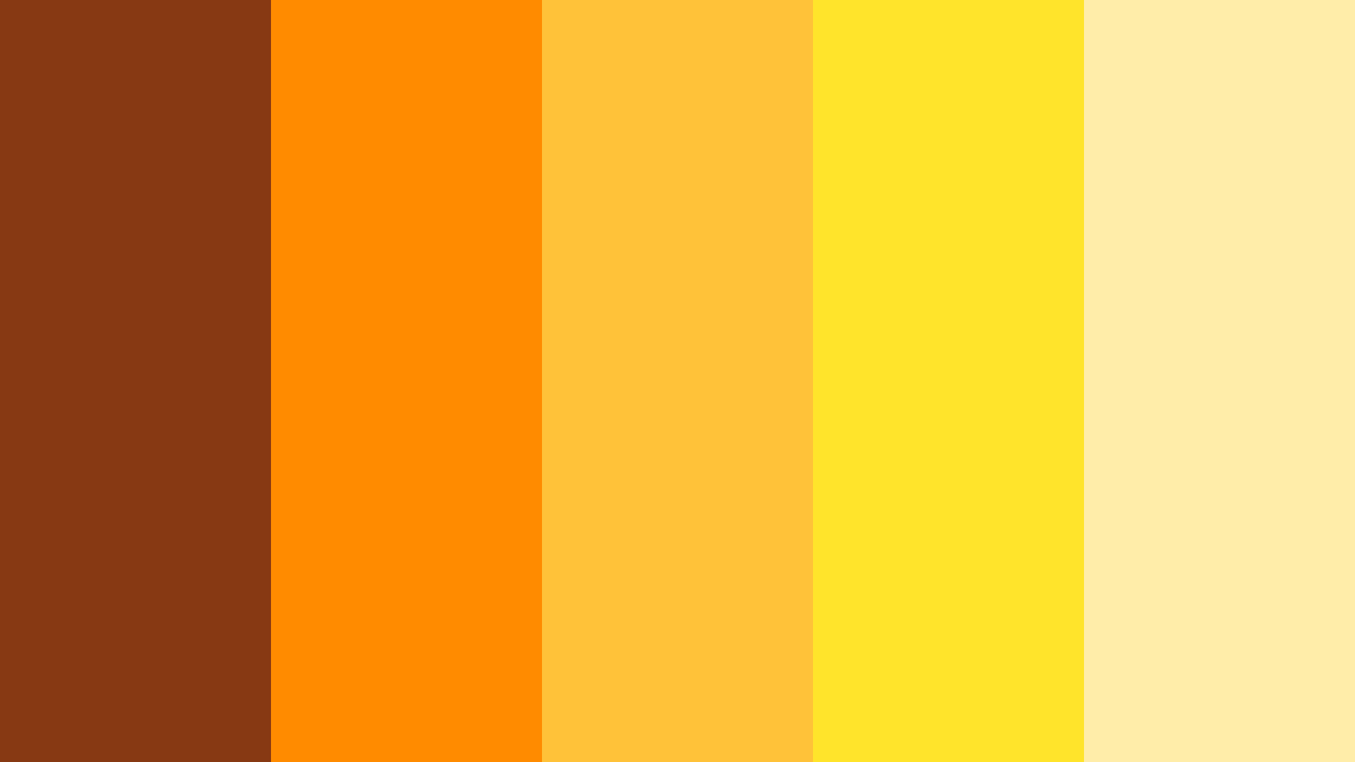 Soul Stone Orange Color Scheme