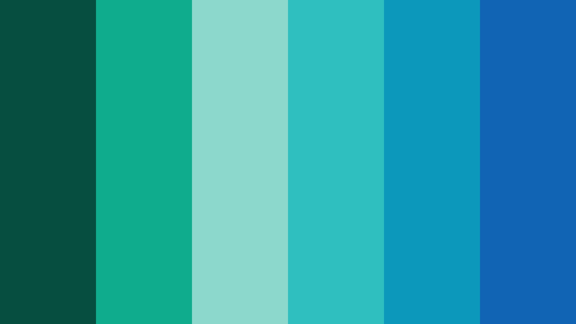 Ocean Blue Green Color Scheme » Blue » SchemeColor.com