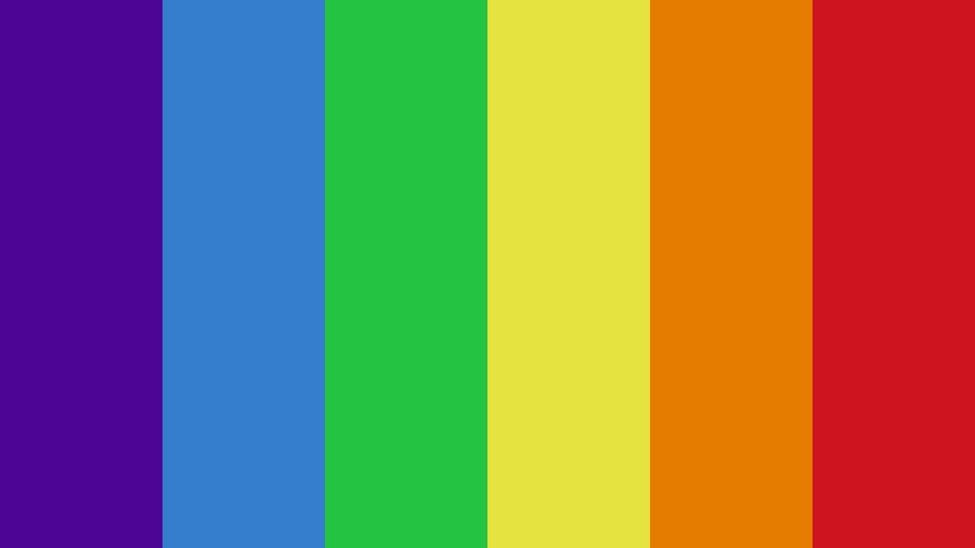 True Rainbow Color Scheme Cyan Schemecolor Com