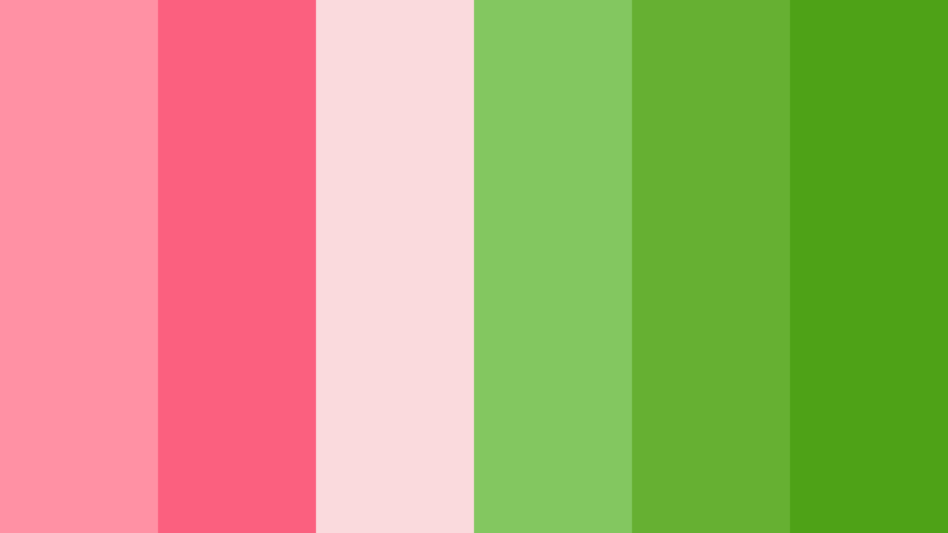 Pink And Green Color Scheme Green Schemecolor Com