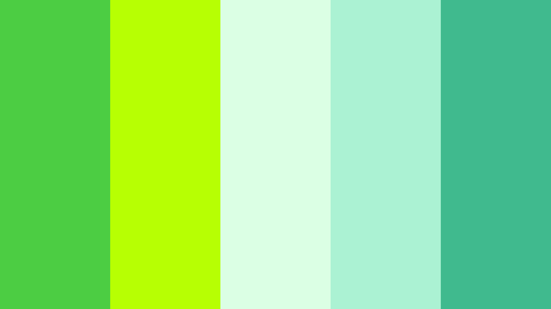 Mint And Lime Green Color Scheme Green Schemecolor Com