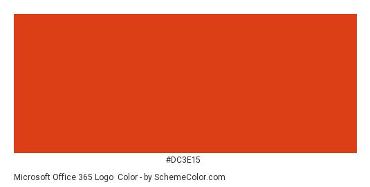Microsoft Office 365 Logo Color Scheme » Brand and Logo