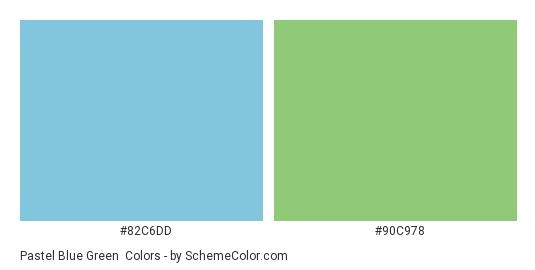 pastel blue green color scheme light blue schemecolor com