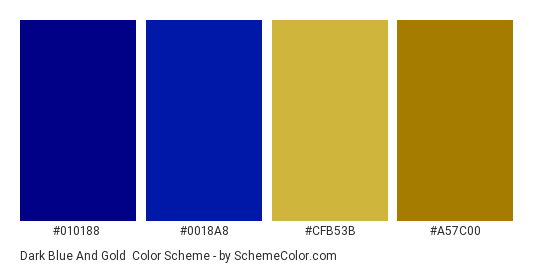 dark blue and gold color scheme blue schemecolor com