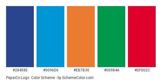 PepsiCo Logo Color Scheme » Blue » SchemeColor com
