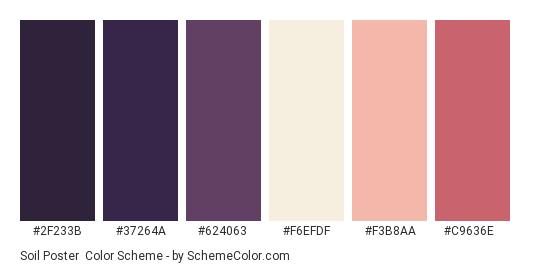 Soil Poster Color Scheme » Beige » SchemeColor.com