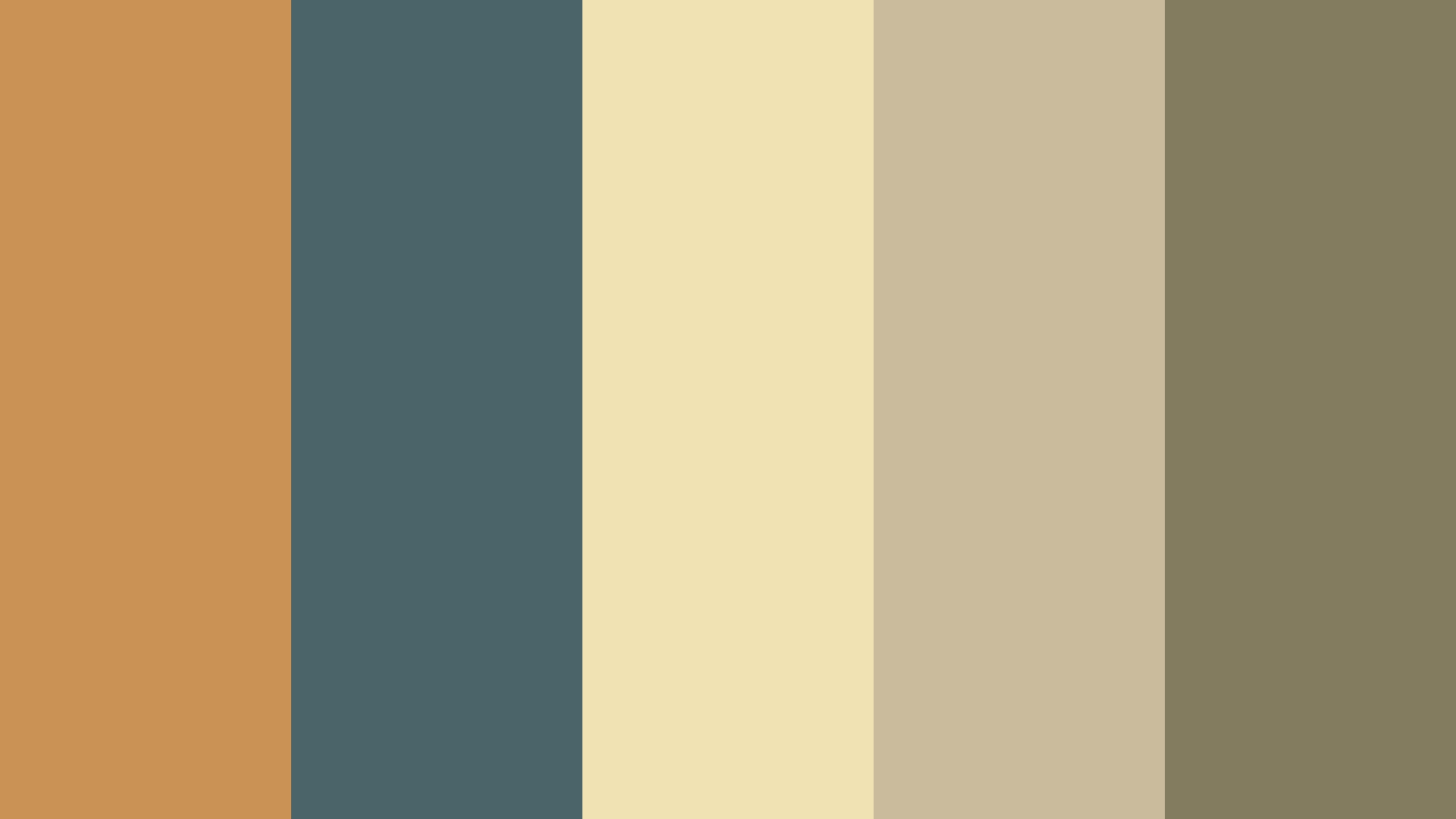 60s Vintage Color Palette Image
