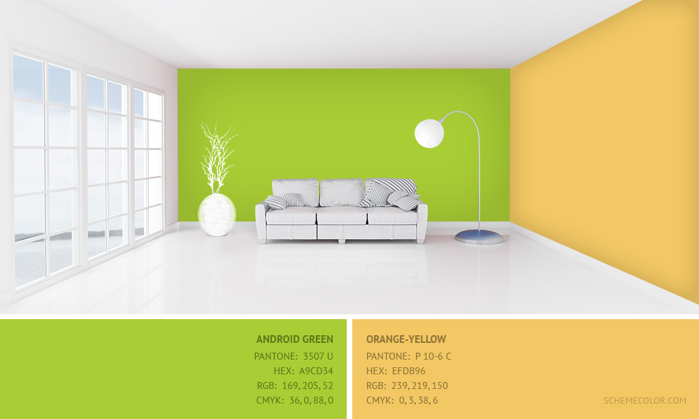 Interior Color Combinations That Goes Well With Green ...