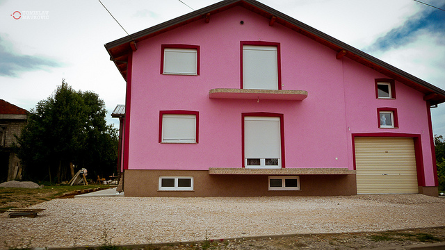 Barbie house colors combinations