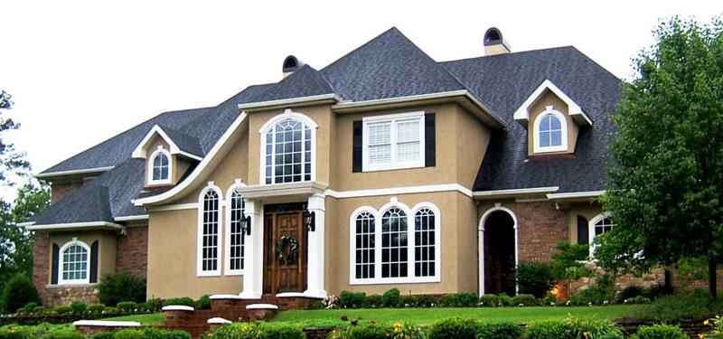 Cream  White Exterior Paint Color Combinations  House Exterior - Exterior home color schemes