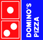 Domino's Logo 1977–1996 blue - red