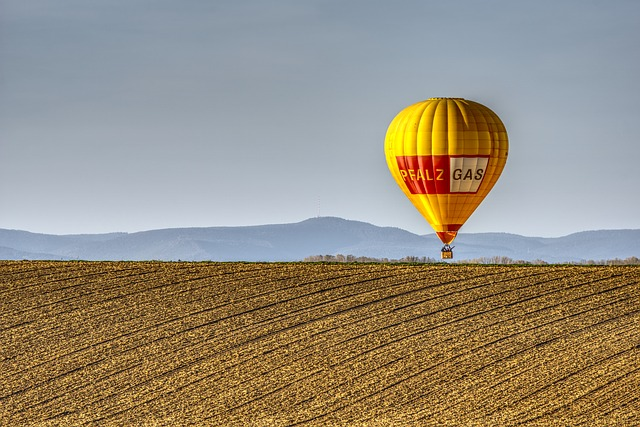 Hot Air Balloon image color extract