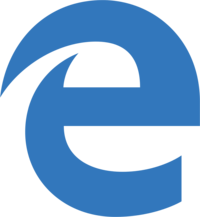 Microsoft Edge logo colors