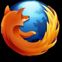 Mozilla Firefox Logo 2009–2013 colors