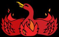 Phoenix / Firebird 2002–2004 logo colors