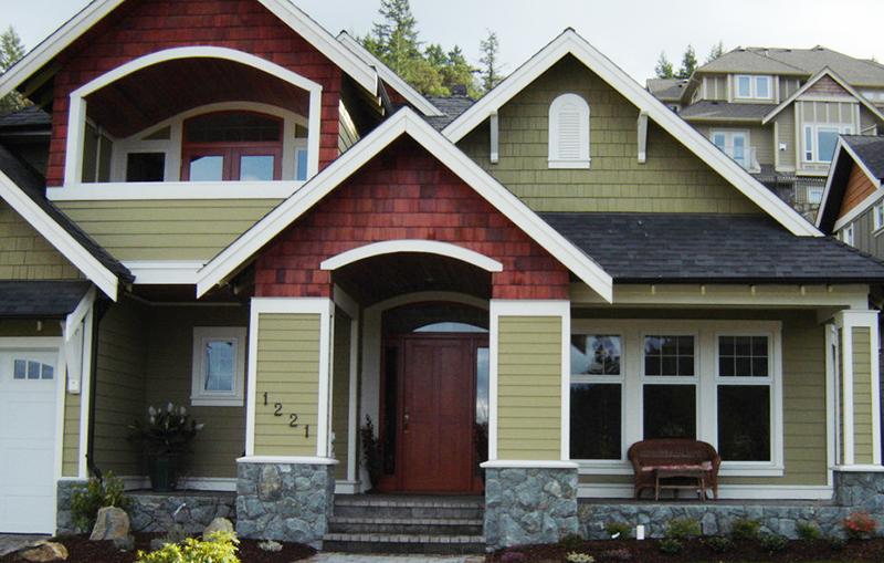 Unique house - colors