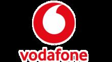 Vodafone red color logo