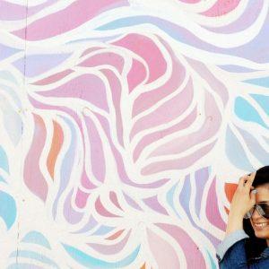 Abstract Art on Wall