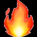 Apple Fire Emoji icon