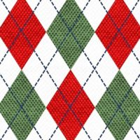 Argyle Christmas Sweater