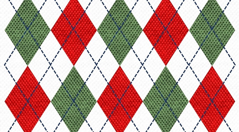 Argyle Christmas Sweater