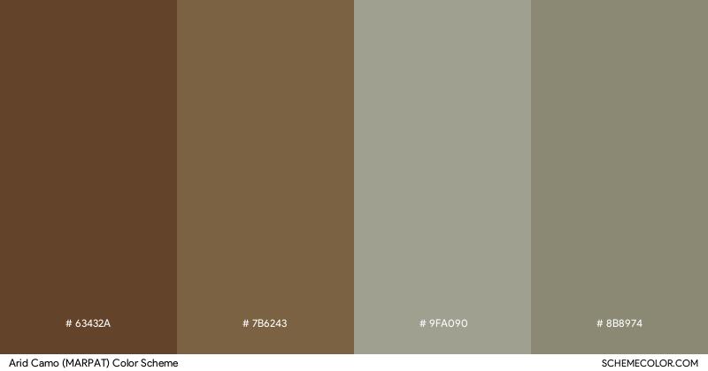 Arid Camo (MARPAT) color scheme