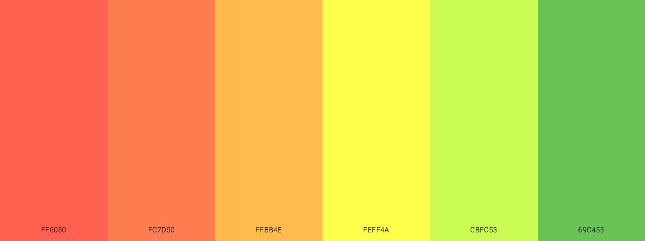 Autumn Leaf Cycle Color Scheme