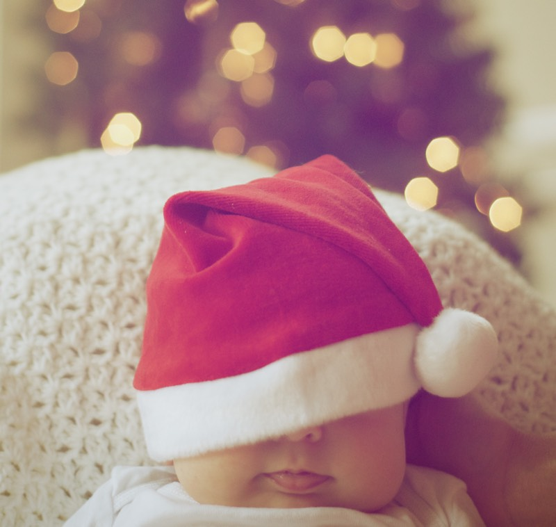 Baby Santa photo