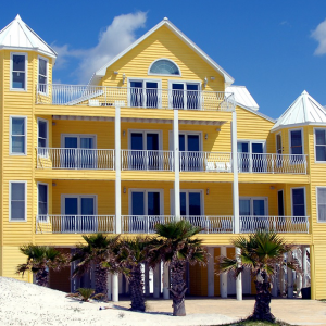 Beach Yellow Apartment colors