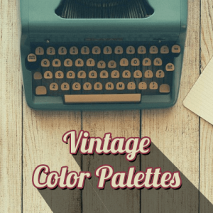 Best Retro - Vintage color palettes