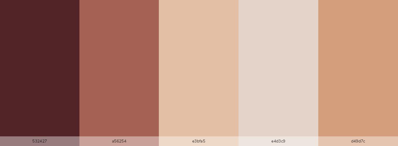 Blacky brown skin tones