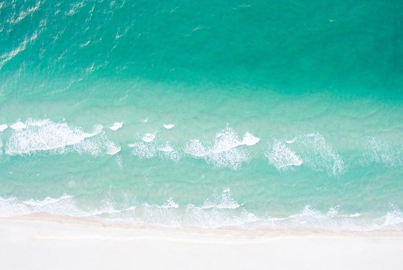 Blue-green Water