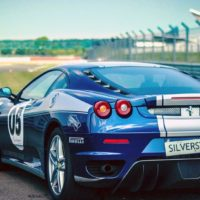 Blue Speed Thrills car