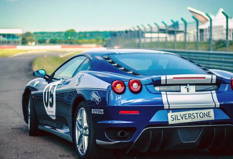 Blue Speed Thrills car