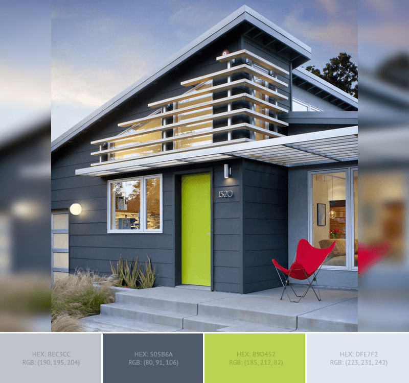 Best home exterior color combinations and design ideas for Exterior contemporary house colors