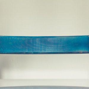 Blue Wooden Bench