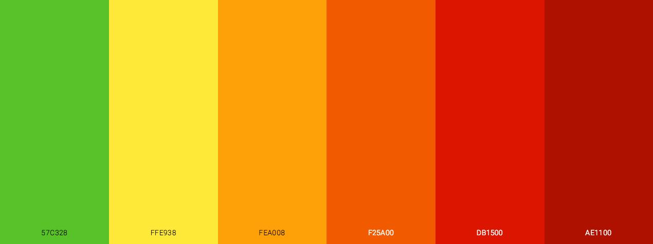 Bright Autumn Color Scheme