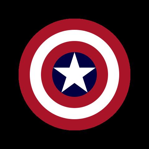 Captain America's Shield Graphic