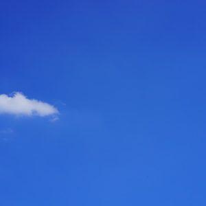 Cloud In A Blue Sky