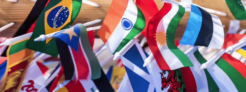 Color Schemes of all Country flags with color codes