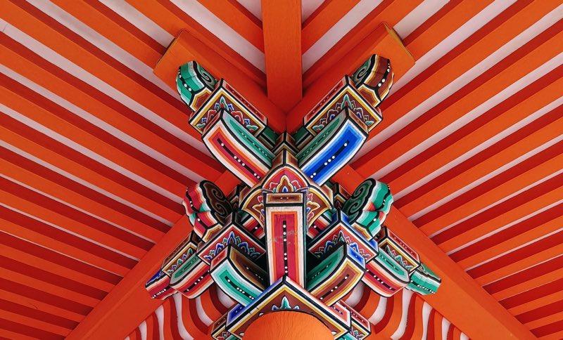 Colors at Kyoto Temple (Japan)