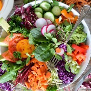 Colors of a Salad