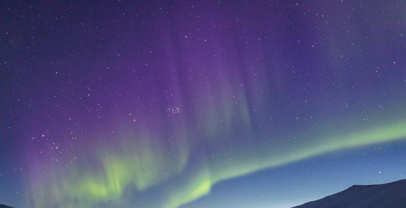 Curtain of Aurora