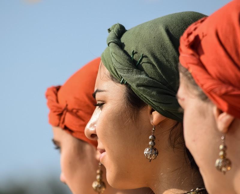 Cyprus Women In Traditional Dress