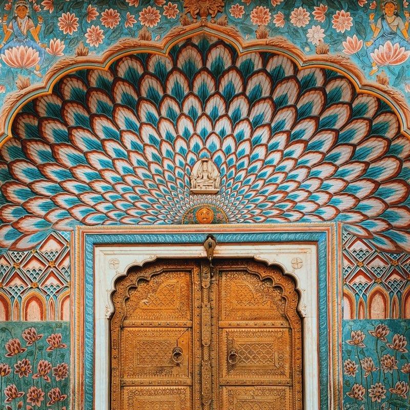 Door at Palace (India)