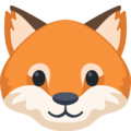 Facebook Fox Face Emoji